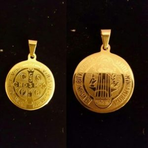 18K-Gold-Plated-St.-Benedict-Exorcism-Medal-Pendant-Necklace