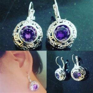 18K-White-Gold-Filled-Amethyst-Hollow-Flower-Earrings
