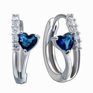 925-Sterling-Silver-Sapphire-Gemstone-Earrings