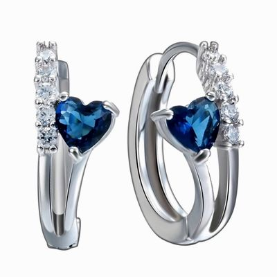925-Sterling-Silver-Sapphire-Gemstone-Earrings