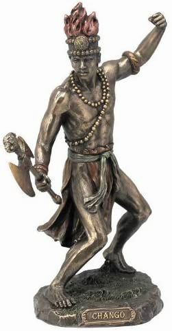 Chango-God-Fire-Thunder-Lightning-War-Statue-Sculpture-Figurine