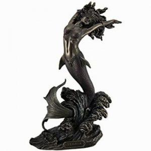 Ocean-Goddess-Yemaya-Mother-The-Seas-Bronze-Finish-Statue