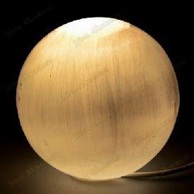 Selenite-Sphere-Lamp