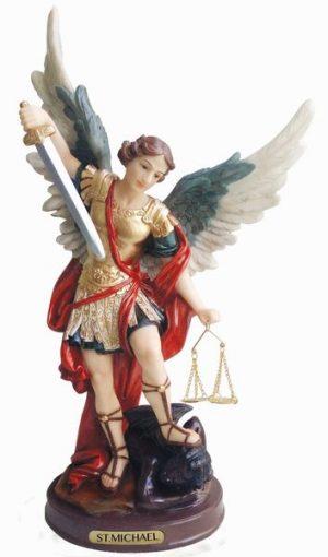 St.-Michael-Stepping-Satan-Statue