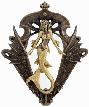 Steampunk-Mermaid-Wall-Mirror